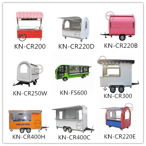 View of our food cart new-built workshop,main products---food cart/trailer/truck