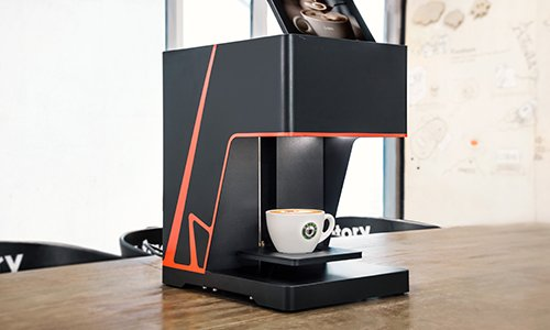 Our new product, new generation coffee printer has come to face the market!