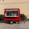 KN-250H Multifunctional Snack Food Cart Manufacturer for Fast Food Hotdog Truck Food Trailer Hot Selling