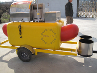 KN-HS230 Commerical Trailer Type Hot Dog Cart for Sale Hot Dog Vending Cart