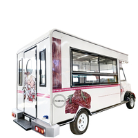 Electric Fast Travel Trucks Ice Cream Food Cart Hot Dog Cart Coffee Van Truck Kiosk Food Truck For Sale In Usa