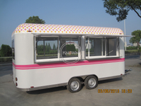 KN-400A Mobile Kitchen Outdoor Food Trailer Food Vending Truck Food Trailer / Food Truck / Food Cart