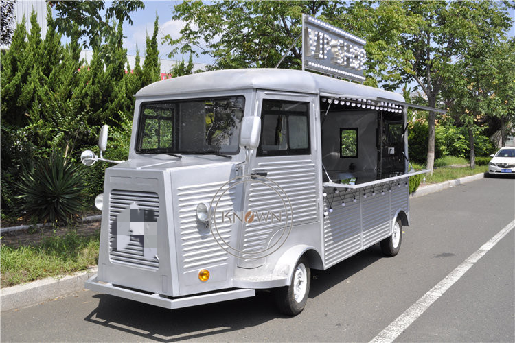Food Cart Mobile Vending Kiosk Hot Sale Coffee Van Mobile Fryer Food Truck for Sale