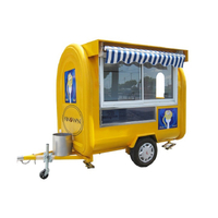 220H Mobile Food Cart Trailer