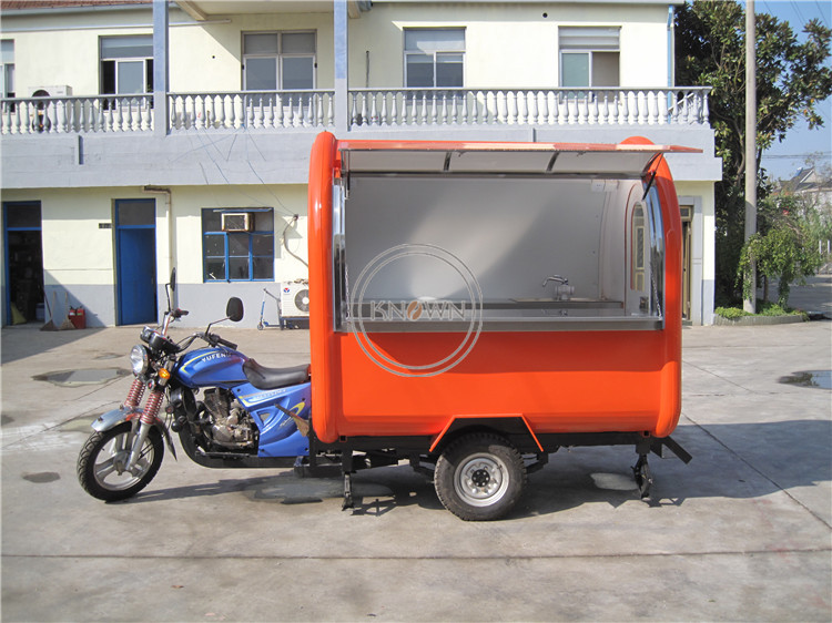 KN-220I Popular Street Food Cart ElectricTricycle