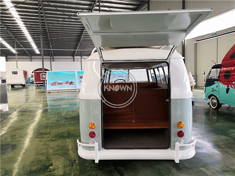 Customized electric mobile triporteur airstream coffee food trailer truck kiosk for shopping mall