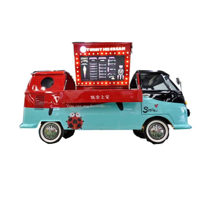 mobile food cart electric food truck for sale