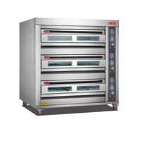 High Quality 9 Gas Oven Oven / Bakery Cake Shop Baking Equipment