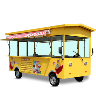 3.5m OEM electric food truck street cart for food selling