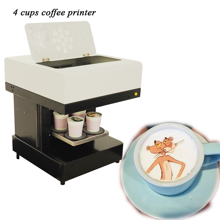 2019 multicolor selfie coffee printing machine 3D coffee printer